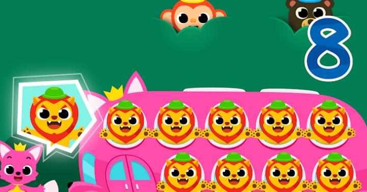 Game Anak Edukasi Pinkfong Number Zoo